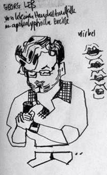 Georg Leß / Zeichnung